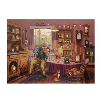 The House of Puzzles Grandfather Time Puzzle 1000 Pieces