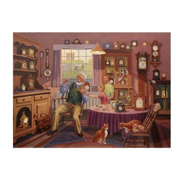 The House of Puzzles Temps Grand-père Puzzle 1000 Pièces