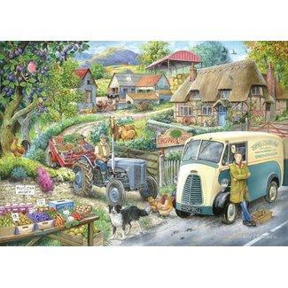 The House of Puzzles Plum Jam 1000 Puzzle Pieces