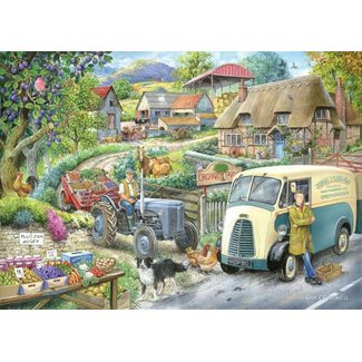 The House of Puzzles Plum Jam Puzzel 1000 Stukjes