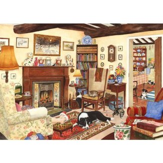 The House of Puzzles Five Minutes Peace Puzzle 1000 Pieces