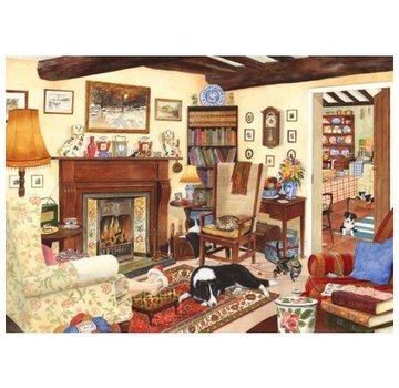 The House of Puzzles Fünf Minuten Frieden Puzzle 1000 Stück