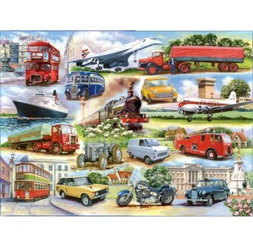 The House of Puzzles Golden Oldies 1000 Puzzle Pieces