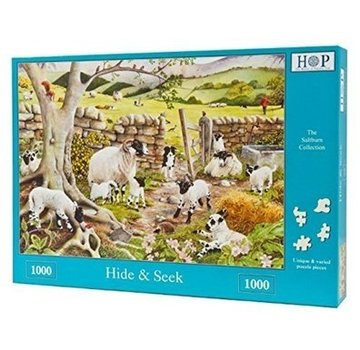 The House of Puzzles Hide and Seek Puzzle 1000 Pieces
