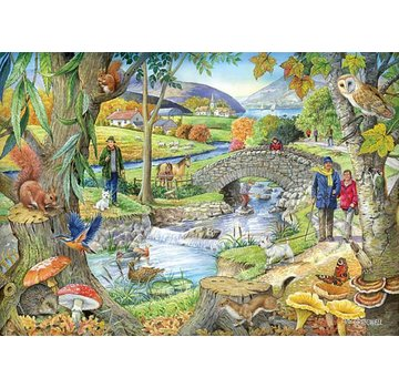 The House of Puzzles Riverside Walk 1000 Puzzle Pieces