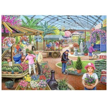 The House of Puzzles At The Garden Centre Puzzel 1000 Stukjes