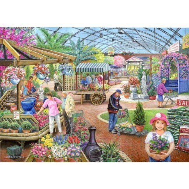 Im Gartencenter 1000 Puzzleteile
