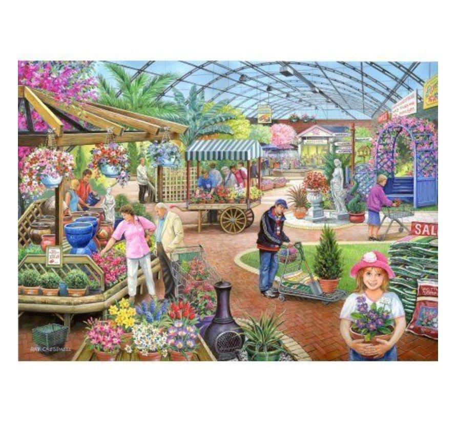 At The Garden Centre Puzzel 1000 Stukjes