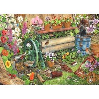 The House of Puzzles Nest 1000 Pièces de Puzzle Robin