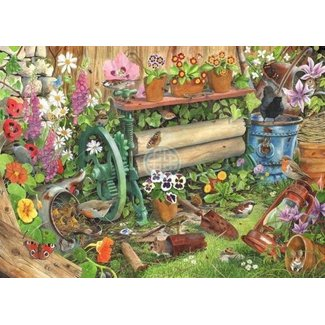 The House of Puzzles Robin's Nest Puzzel 1000 Stukjes