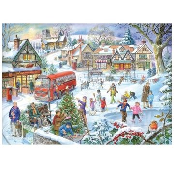 The House of Puzzles Wintergreen 1000 Pièces Puzzle