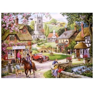 The House of Puzzles Feeding The Ducks Puzzle 1000 Pieces