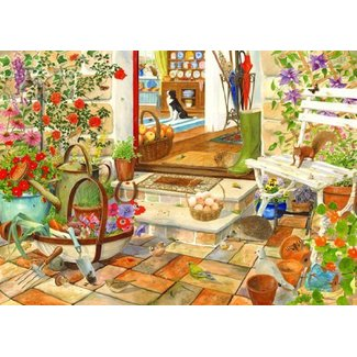 The House of Puzzles Home and Garden Puzzel 1000 Stukjes