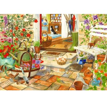 The House of Puzzles Home and Garden Puzzle 1000 Pieces