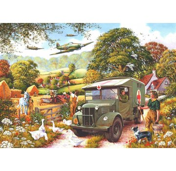 The House of Puzzles Land Girls Puzzel 1000 Stukjes
