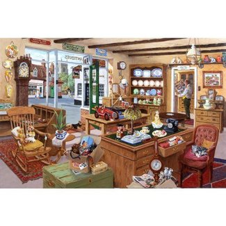 The House of Puzzles Past Times Puzzle 1000 Pieces