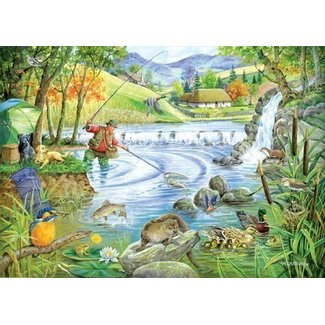 The House of Puzzles Tight Lines Puzzle 1000 Pieces