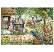 The House of Puzzles Cider Makers 1000 Puzzle Pieces