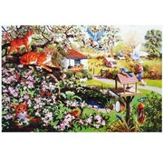 The House of Puzzles Garden Watch 1000 Puzzle Pieces