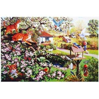 The House of Puzzles Garden Watch Puzzel 1000 Stukjes