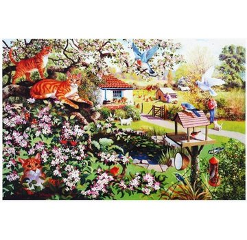 The House of Puzzles Garden Watch Puzzel 1000 Stukjes