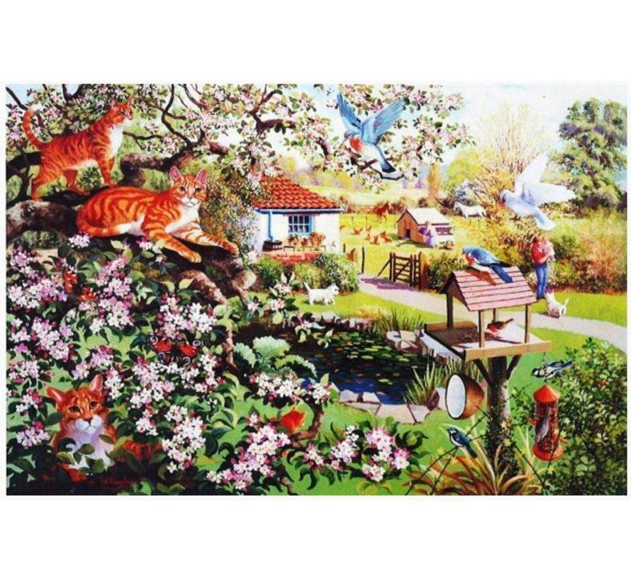 Garden Watch Puzzel 1000 Stukjes