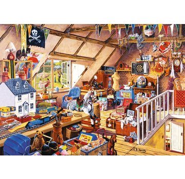 The House of Puzzles Grandma's Attic 1000 Puzzle Pieces