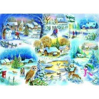 The House of Puzzles Let It Snow Puzzel 1000 Stukjes