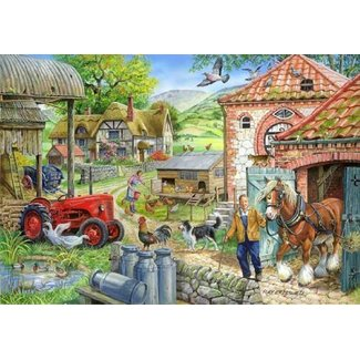 The House of Puzzles Manor Farm Puzzle 1000 Pieces