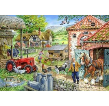 The House of Puzzles Manor Farm Puzzle 1000 Stück