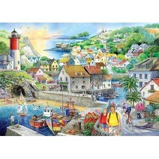 The House of Puzzles Safe Haven Puzzel 1000 Stukjes
