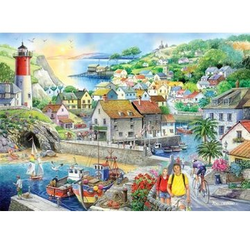 The House of Puzzles Safe Haven 1000 Puzzle Pieces