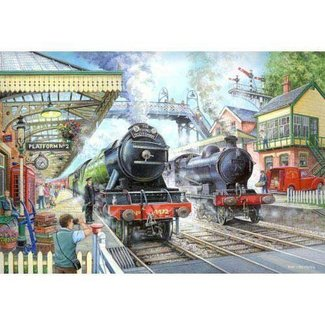 The House of Puzzles Train Now Standing Puzzle 1000 Pieces