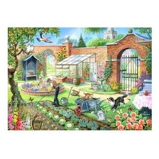 The House of Puzzles Cuisine Jardin Puzzle 1000 Pièces