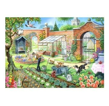The House of Puzzles Kitchen Garden Puzzle 1000 Stück