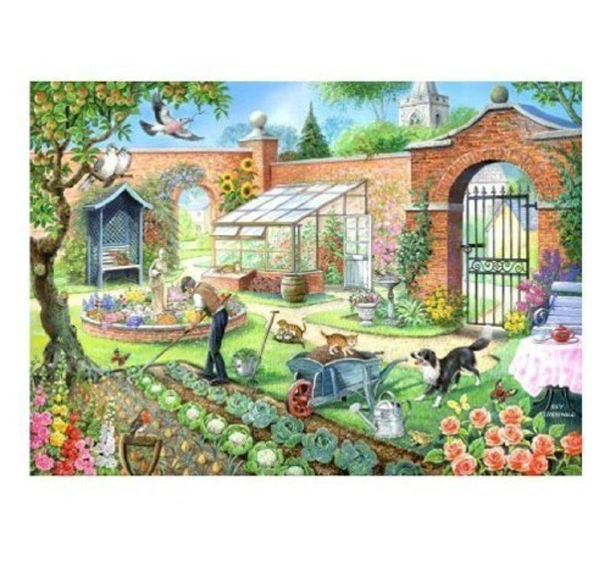 Kitchen Garden Puzzel 1000 Stukjes