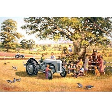 The House of Puzzles Ploughmans Lunch Puzzel 1000 Stukjes