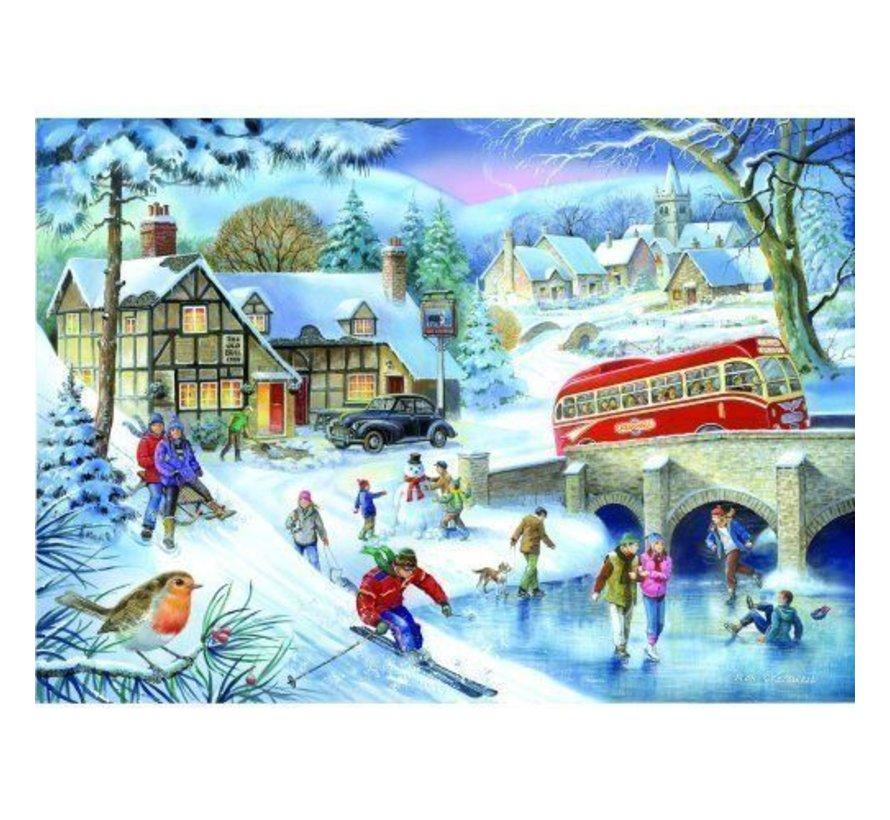 Winter Games Puzzel 1000 Stukjes