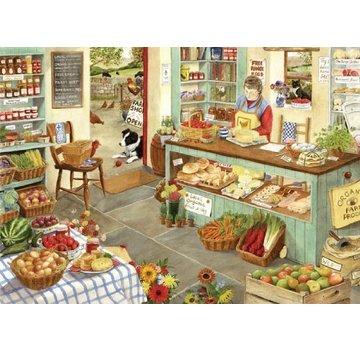 The House of Puzzles Farm Shop 1000 Puzzle Pieces