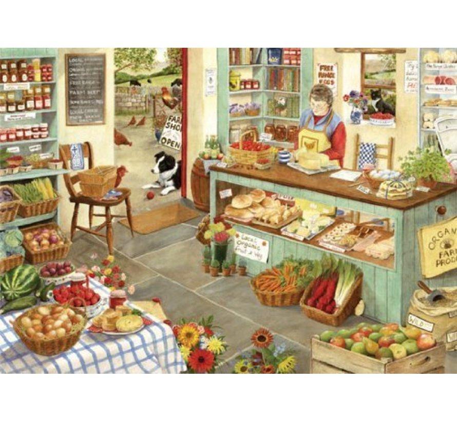 Farm Shop Puzzel 1000 Stukjes