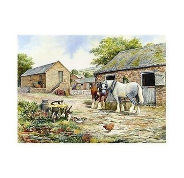 The House of Puzzles Compagnons 1000 Pièces Farmyard Puzzle