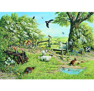 The House of Puzzles 1000 Hedgerow Puzzle Pieces