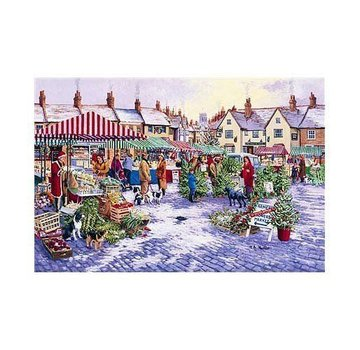 The House of Puzzles 1000 Market Square Puzzle Pieces
