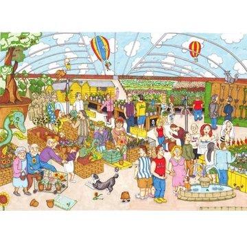 The House of Puzzles Garden Follies Puzzel 1000 Stukjes
