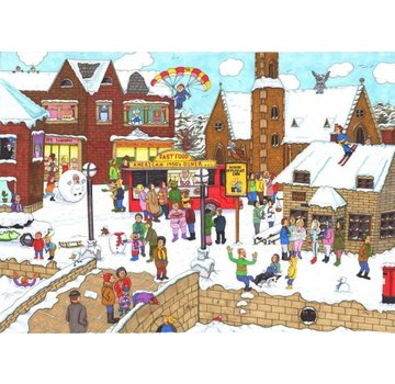 The House of Puzzles It's Cold Outside Puzzel 1000 Stukjes