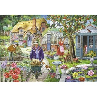 The House of Puzzles No.1 - In The Garden Puzzel 1000 Stukjes