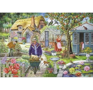 The House of Puzzles No.1 - The Garden Puzzle 1000 Pieces