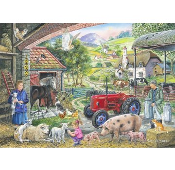 The House of Puzzles N ° 2 - On The Farm 1000 Puzzle Pieces