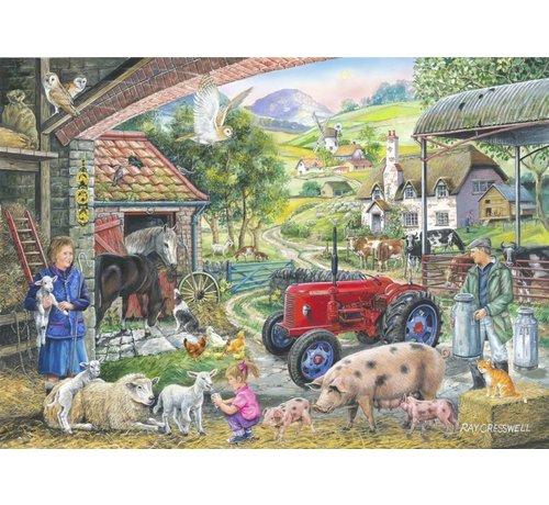 The House of Puzzles No.2 - On The Farm Puzzel 1000 Stukjes