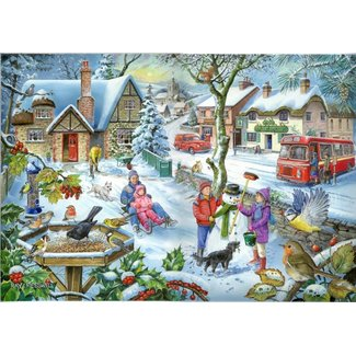 The House of Puzzles No.3 - In The Snow Puzzel 1000 Stukjes